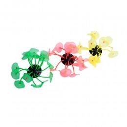 Fluorescencyjne grzyby sztuczna dekoracja do akwarium