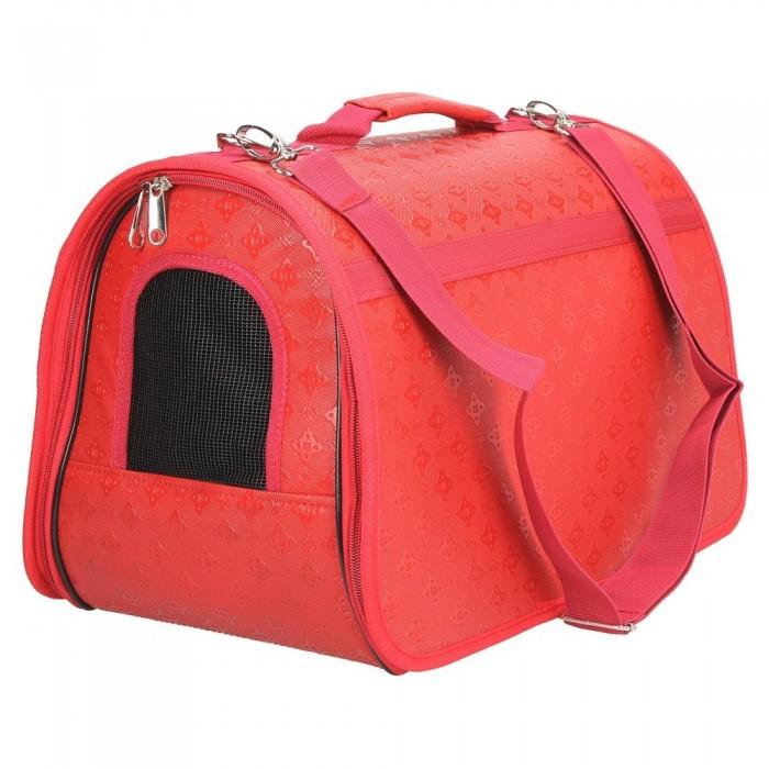 Czerwona torba transportowa