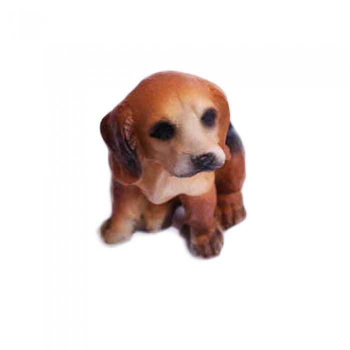 Dekoracyjna ozdobna figurka psa