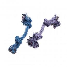 Mocny sznur bawełniany pleciony gryzak dla psa 25cm