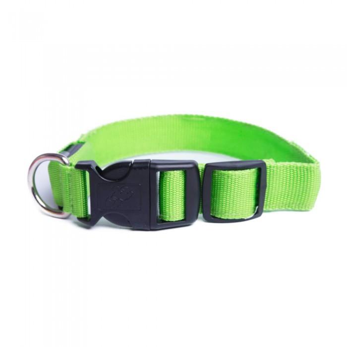 Świecąca OBROŻA dla psa LED - duża - 40 cm