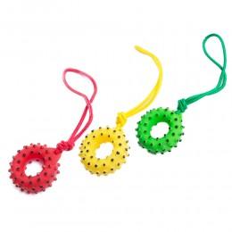 Zabawka dla psa DONUT oponka na sznurku