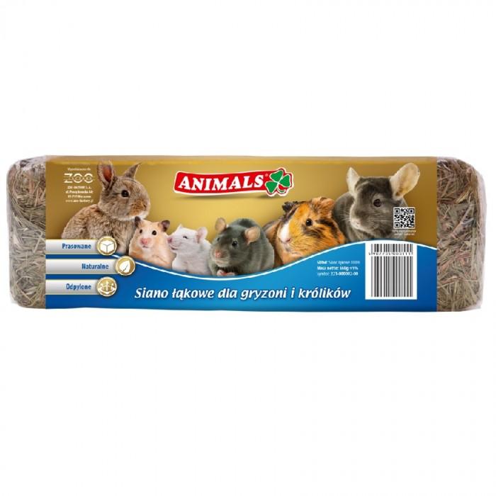 Animals siano łąkowe dla gryzoni i królików prasowane naturalne