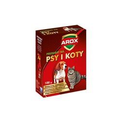 Arox preparat środek odstraszający psy i koty w formie granulatu 100g