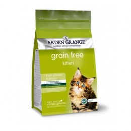 Arden Grange GRAIN FREE Kitten chicken & potato karma dla kociąt
