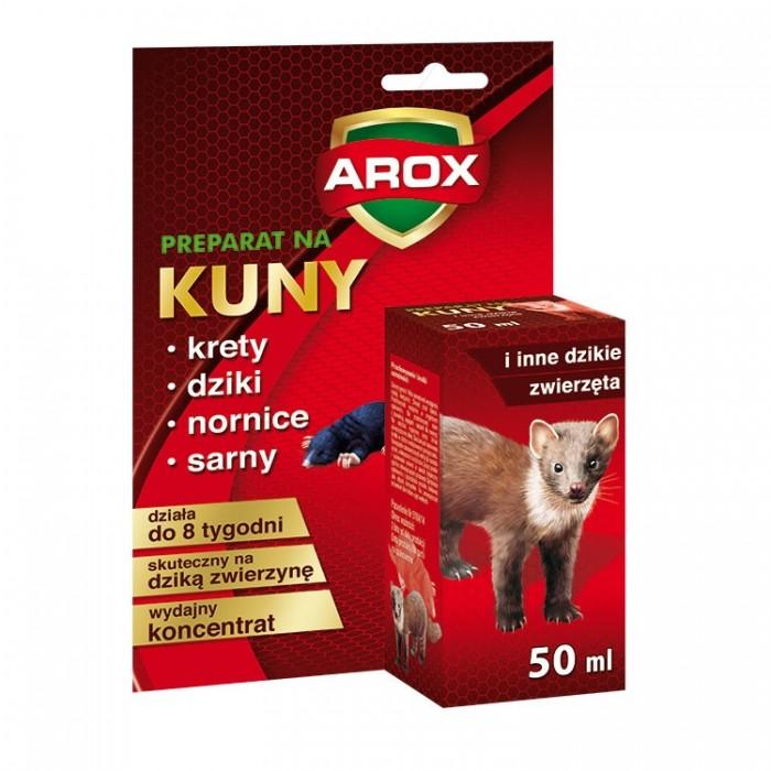 Odstraszacz kun Arox preparat na kuny i inne dzikie zwierzęta płyn 50 ml