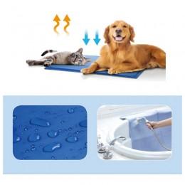 Duża mata chłodząca dla psa kota na upały 90x50 cm / pet cooling mat