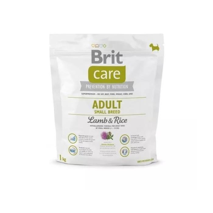 Karma dla psa Brit Care Adult Small Breed Lamb & Rice 3kg