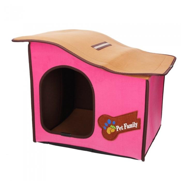 domek budka dla psa z filcu