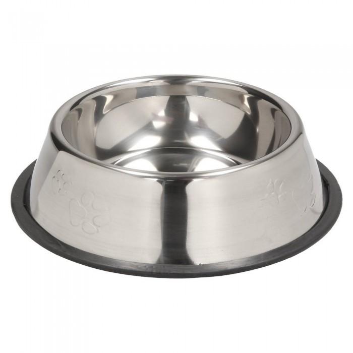 Miska metalowa dla dużego psa na gumie antypoślizgowej 900ml