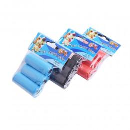 Zapasowe worki woreczki na psie odchody kupy psa 3x15 sztuk