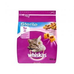 Karma dla kota Whiskas Sterile z łososiem