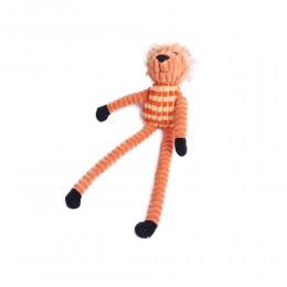 Długi szarpak piszcząca zabawka dla psa zwierzątko LEW