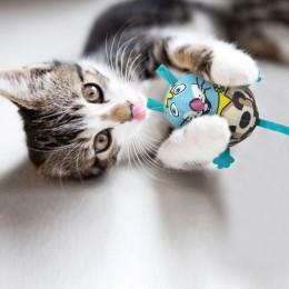Zabawka dla kota z kocimiętką i dźwiękiem MYSZ