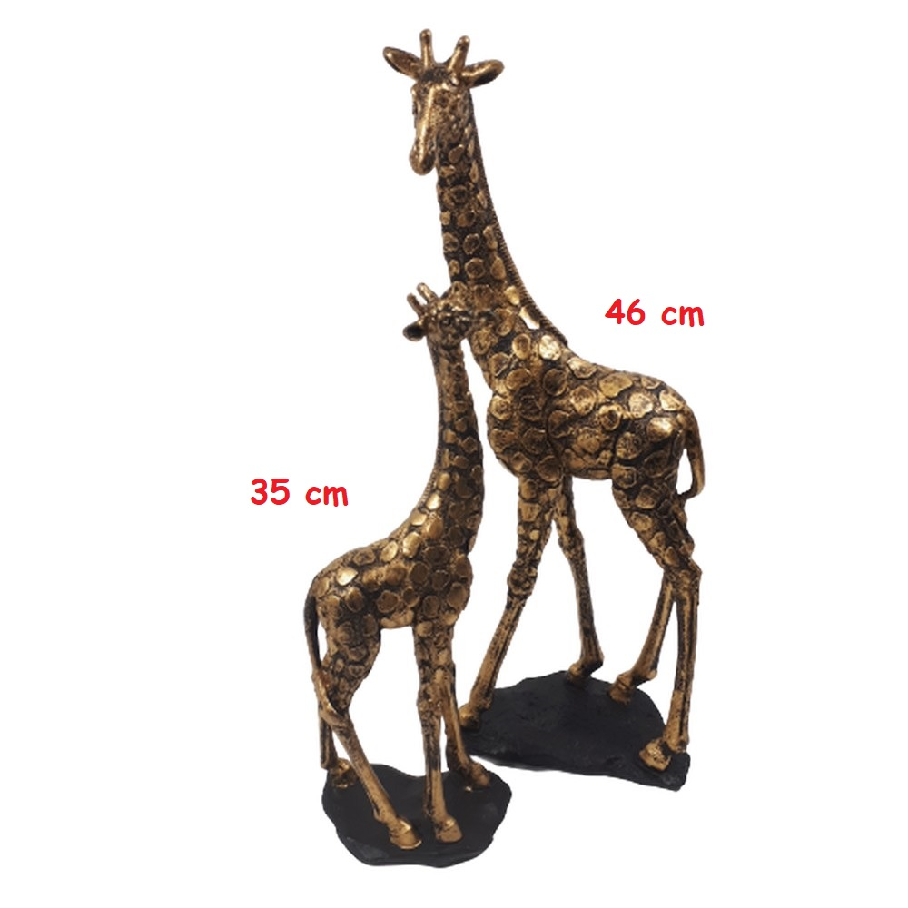 figurki żyrafy dwa wymiary