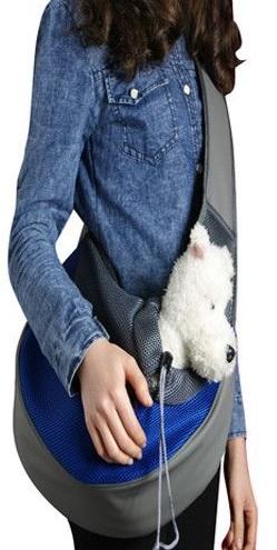 torba banan do noszenia psa na ramieniu
